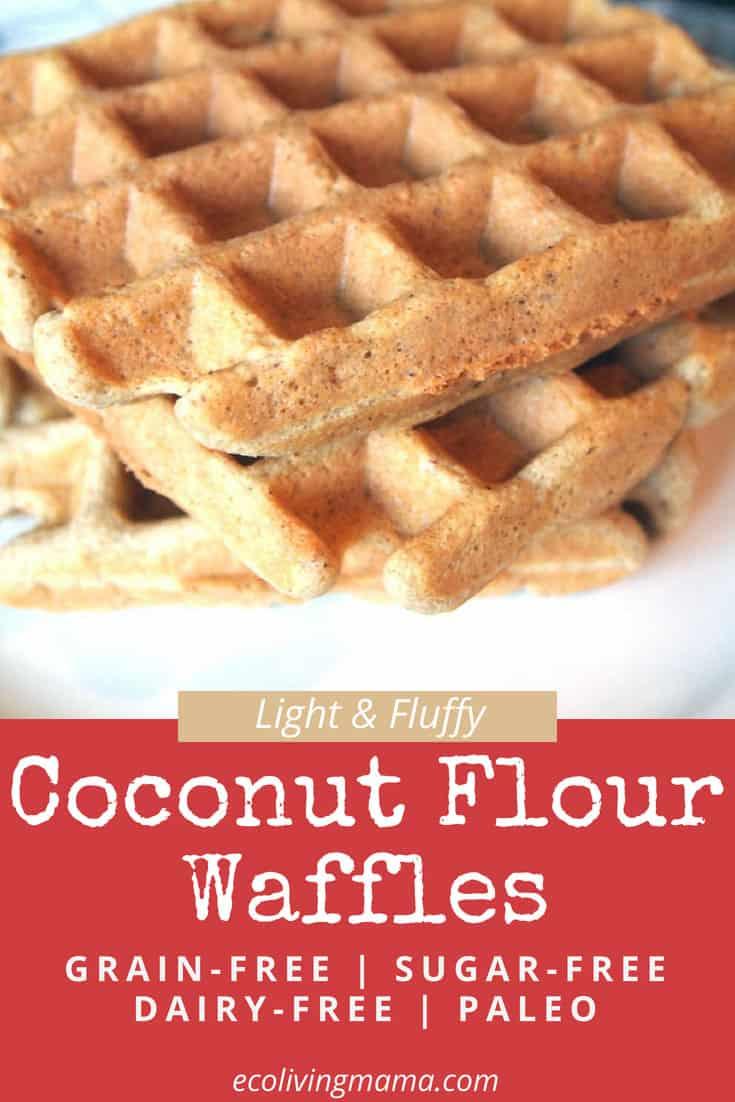 coconut flour waffle recipe grain free waffles