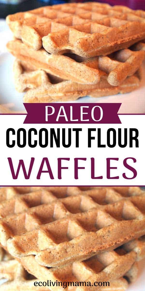paleo coconut flour waffles