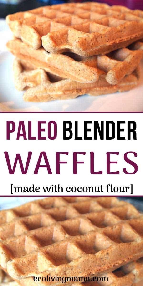 paleo blender waffle recipe