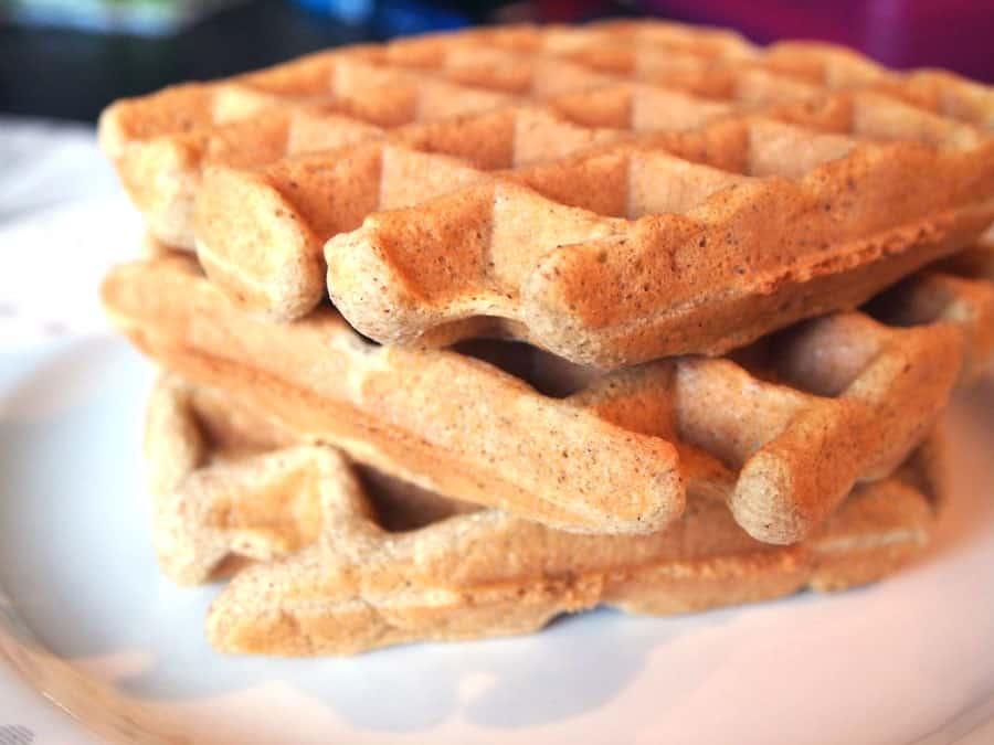 coconut flour paleo waffles