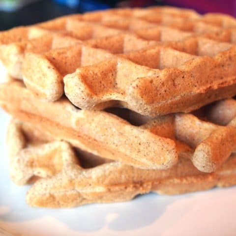 gluten free waffles, paleo waffles grain free waffles recipe