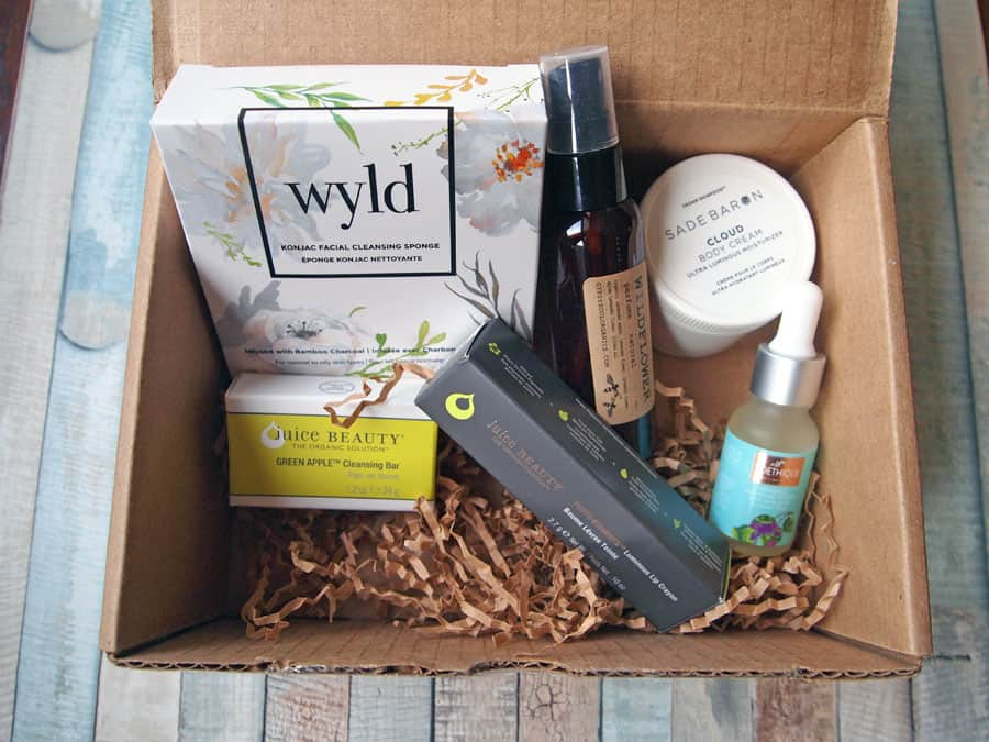 Good Being natural beauty box review
