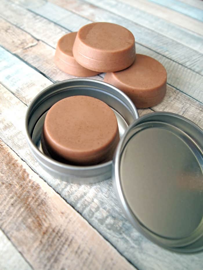 chocolate lotion bar