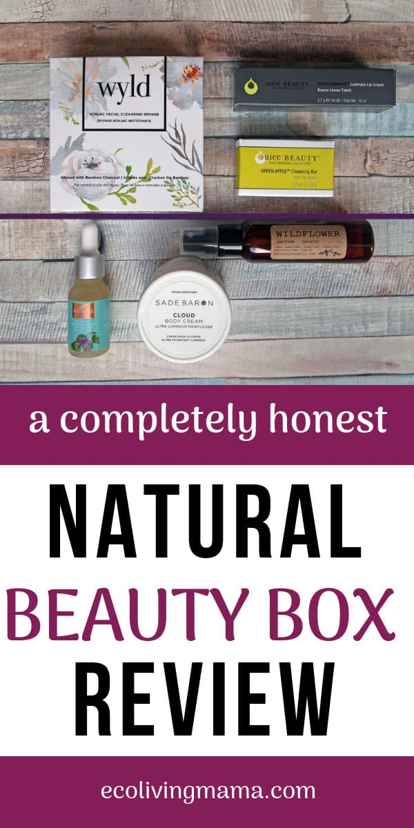 Goodbeing box review October 2018 natural beauty box