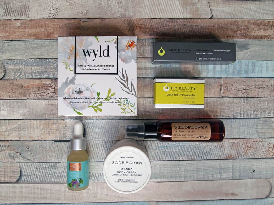 Goodbeing natural beauty box product review October 2018