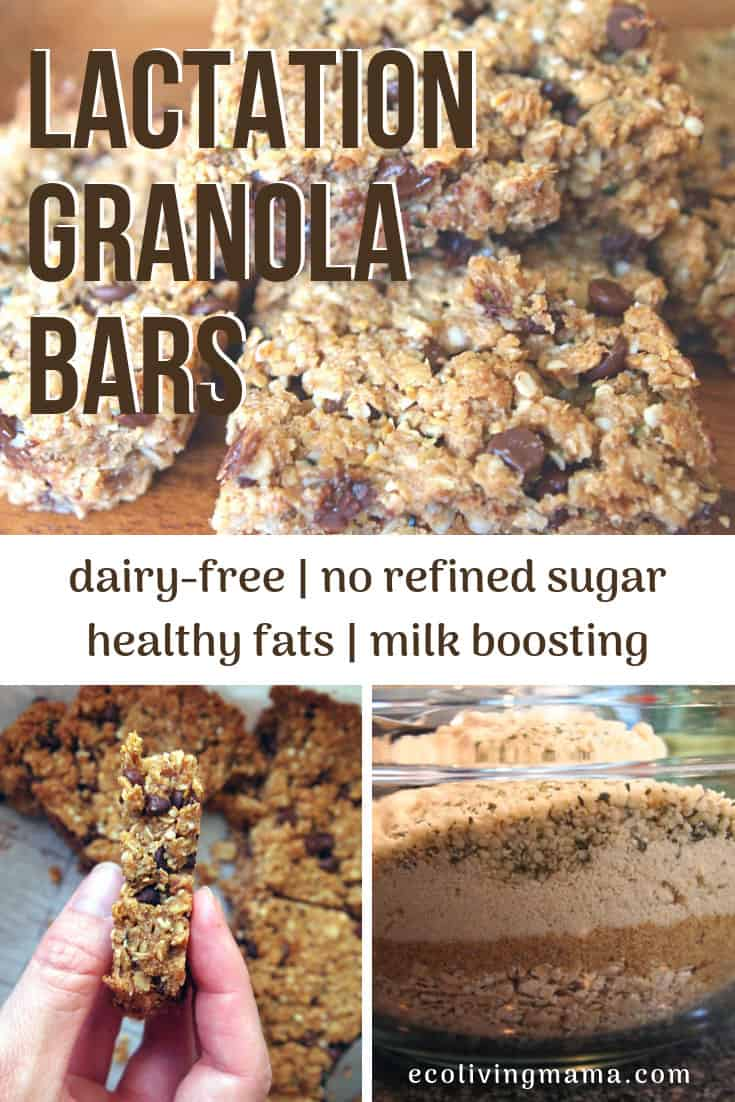 healthy lactation granola bars