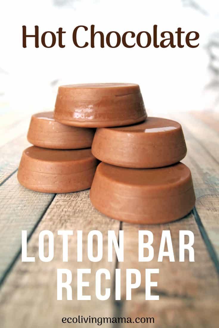 hot chocolate lotion bar recipe