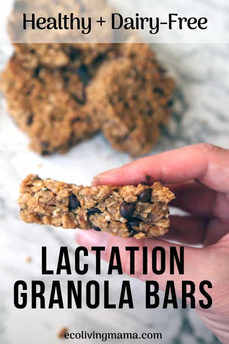 healthy lactation granola bar recipe