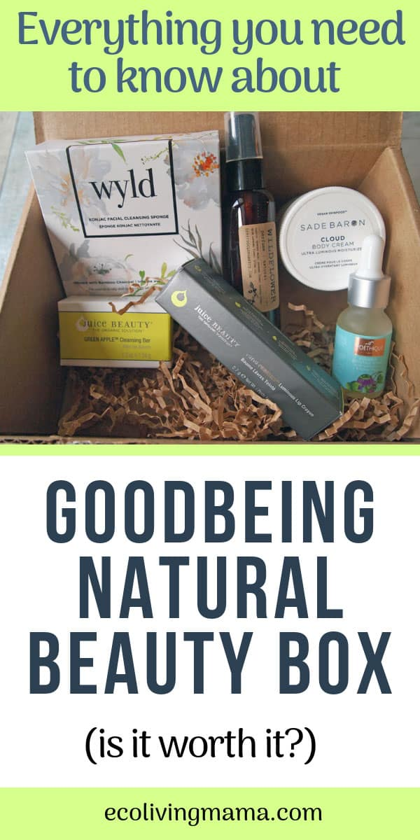 Goodbeing natural beauty box review