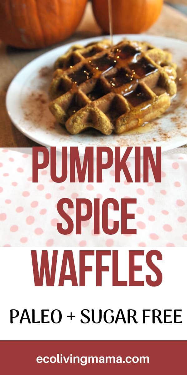 Paleo Pumpkin Waffle Recipe