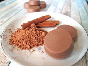 hot chocolate solid lotion bar recipe