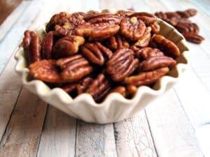 savory roasted pecans recipe