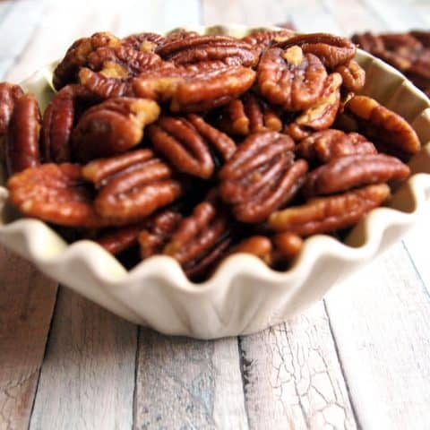 Savory Roasted Pecans Recipe