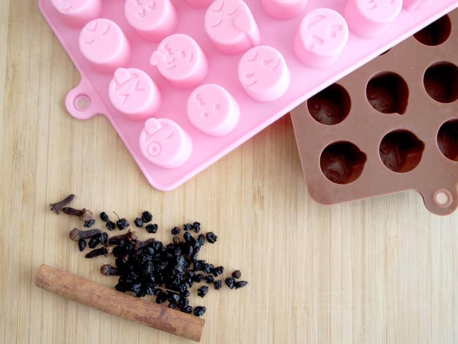 silicone mold for frozen elderberry drops