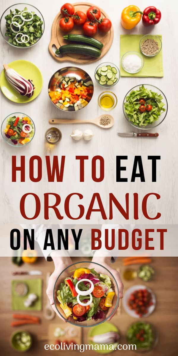 how to make organic food affordable