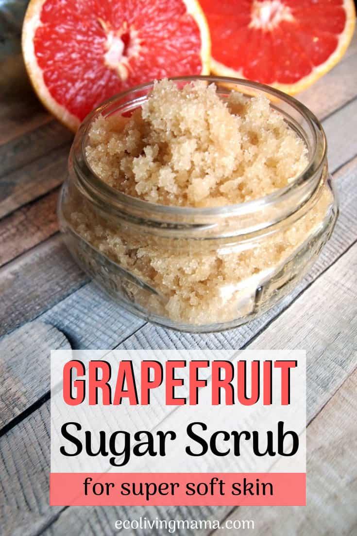 Grapefruit sugar scrub recipe