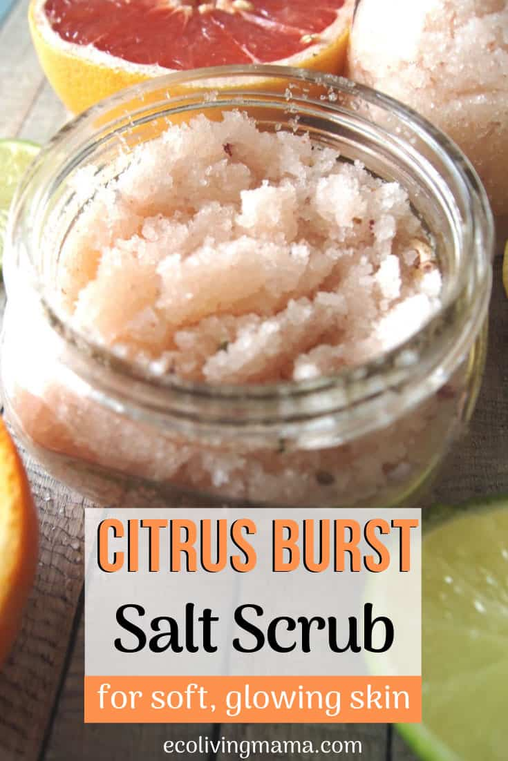 The Best DIY Salt Scrub Recipe – with Himalayan Salt and