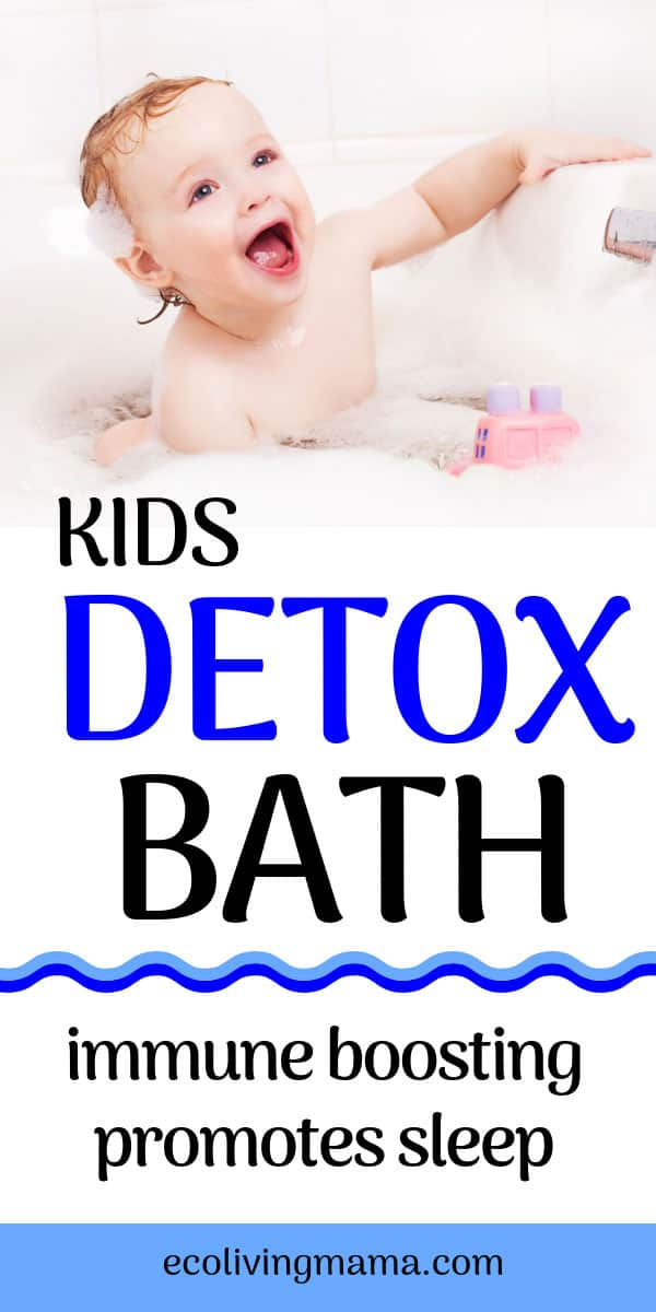how to do a detox bath for kids