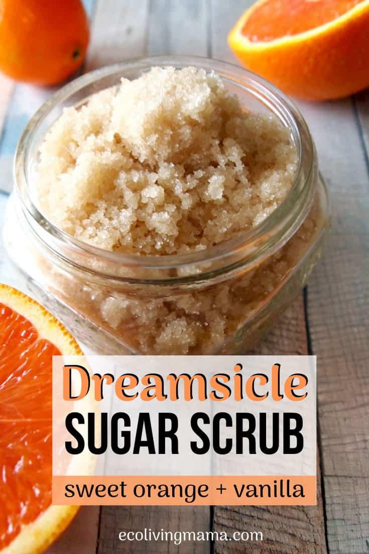Dreamsicle orange vanilla sugar scrub recipe