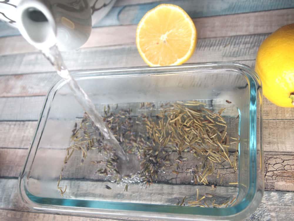 lavender lemon nail soak