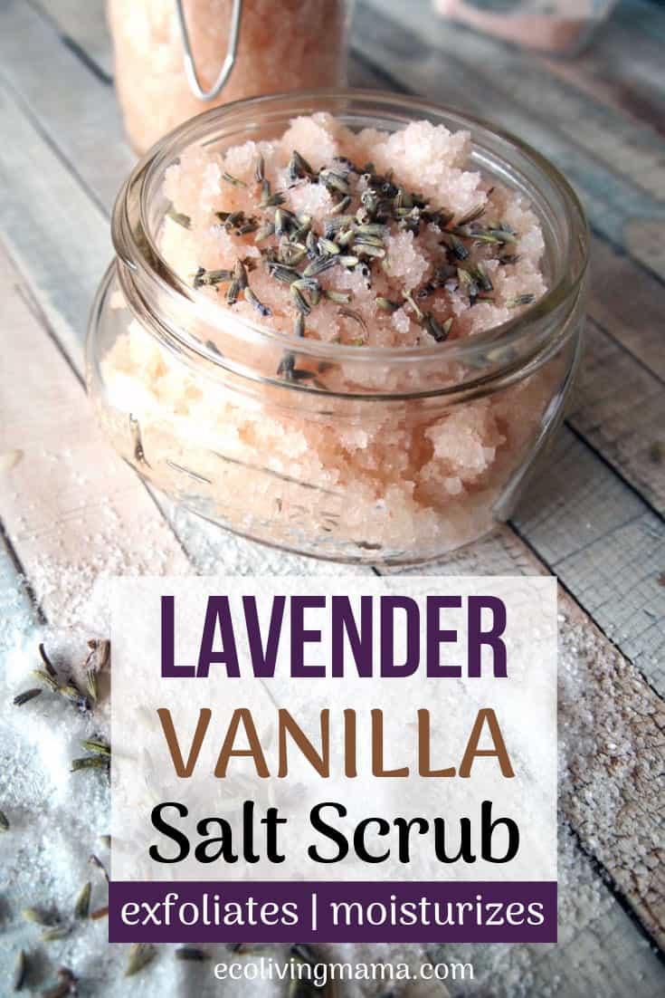 lavender vanilla salt scrub recipe