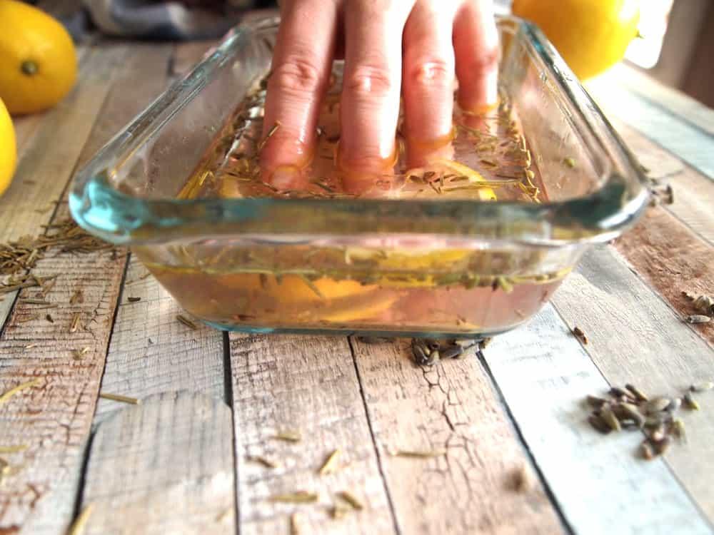 herbal nail soak