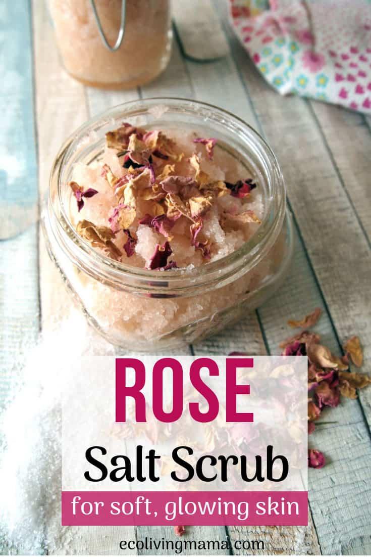 floral rose salt scrub recipe