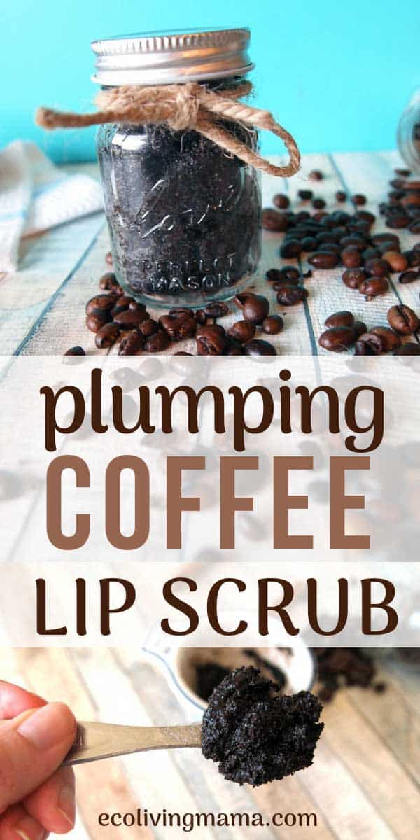 plumping coffee lip scrub how to make