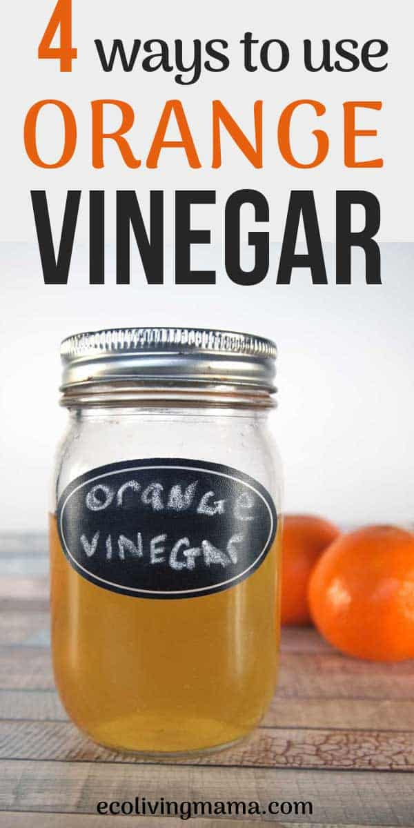 4 Ways to Use Homemade Orange Peel Vinegar Around the House