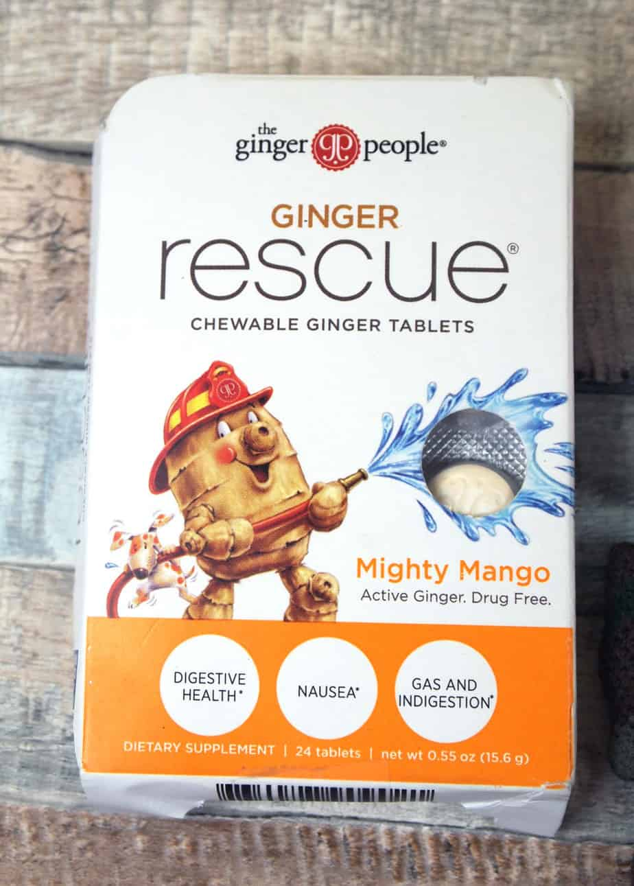 anti nausea ginger chews