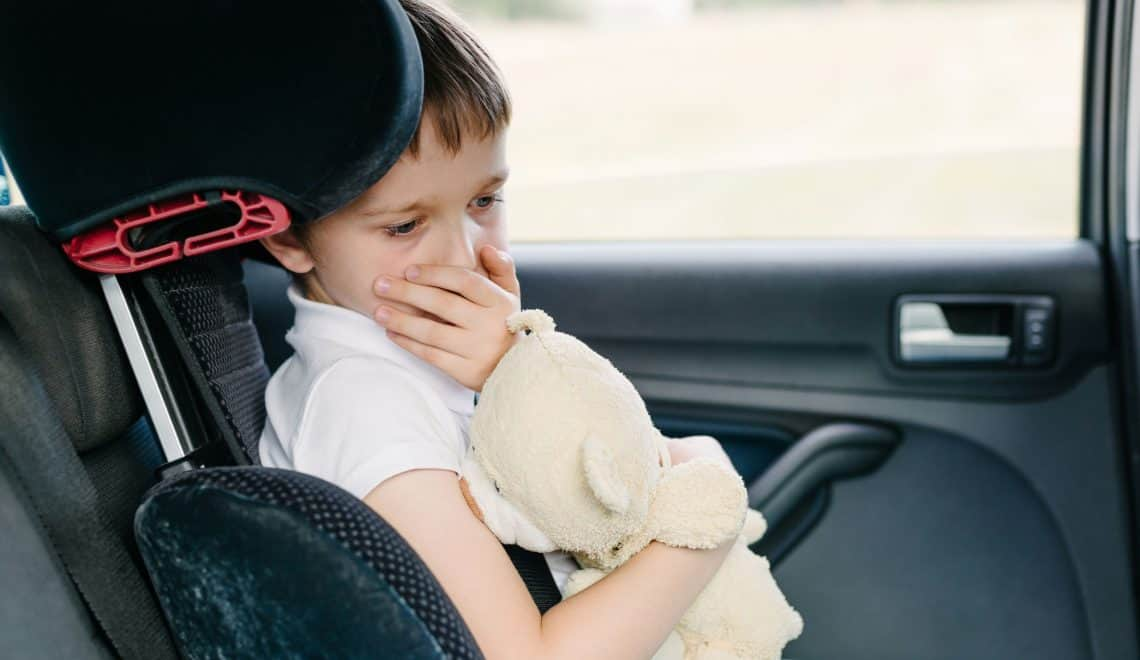 The Best Natural Remedies for Motion Sickness in Kids + DIY Car Sick Kit