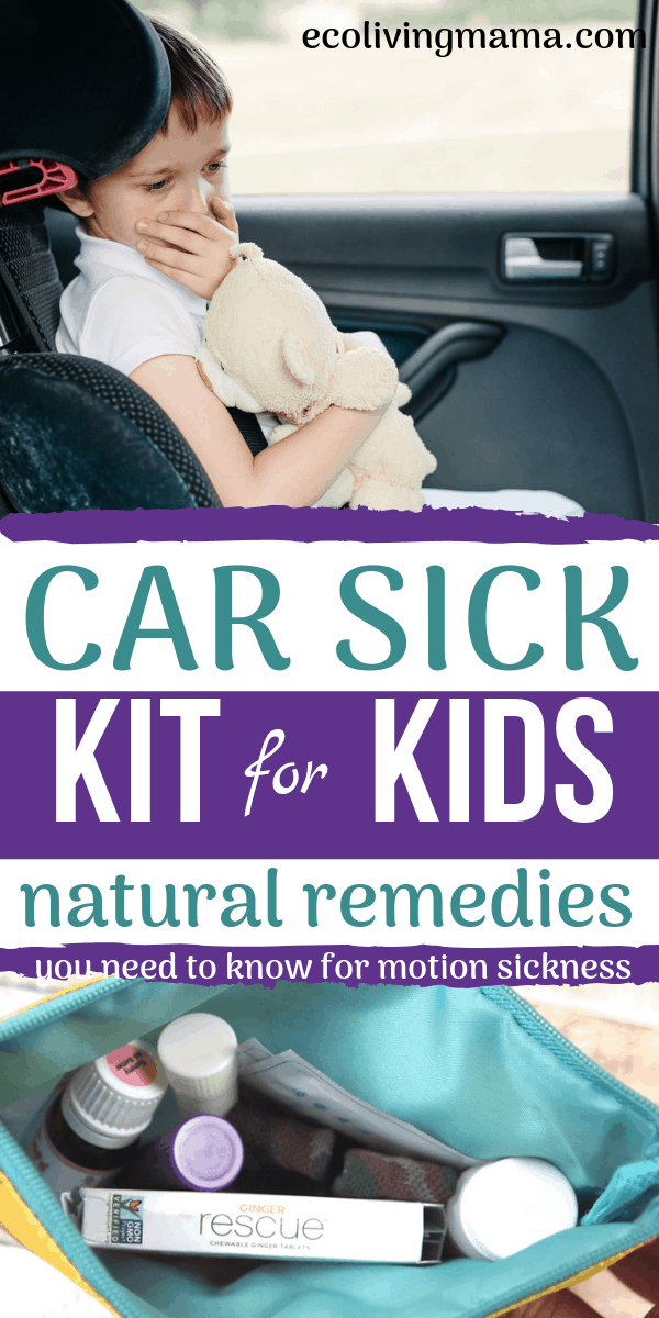 The Best Natural Remedies for Motion Sickness in Kids + DIY