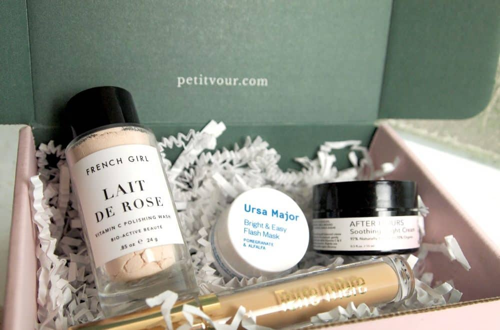 Petit Vour Review: Cruelty Free and Natural Beauty Subscription Box