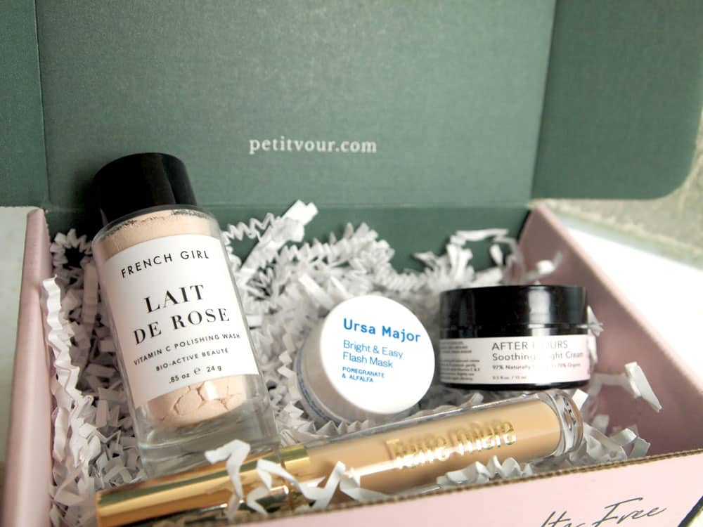 petit vour natural beauty box