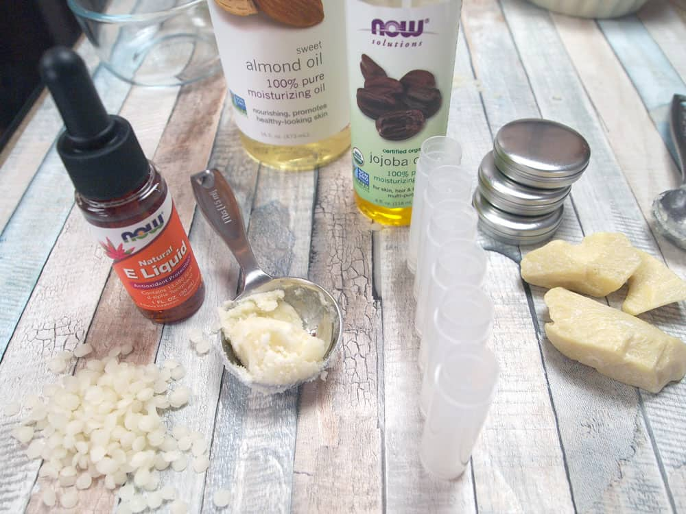 diy lip balm ingredients