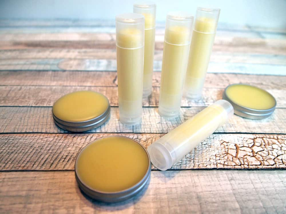 how to make homemade lip balm natural ingredients tube and tin