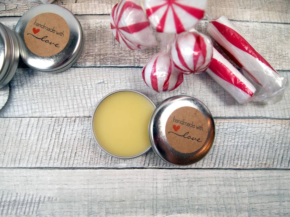 peppermint lip balm gift