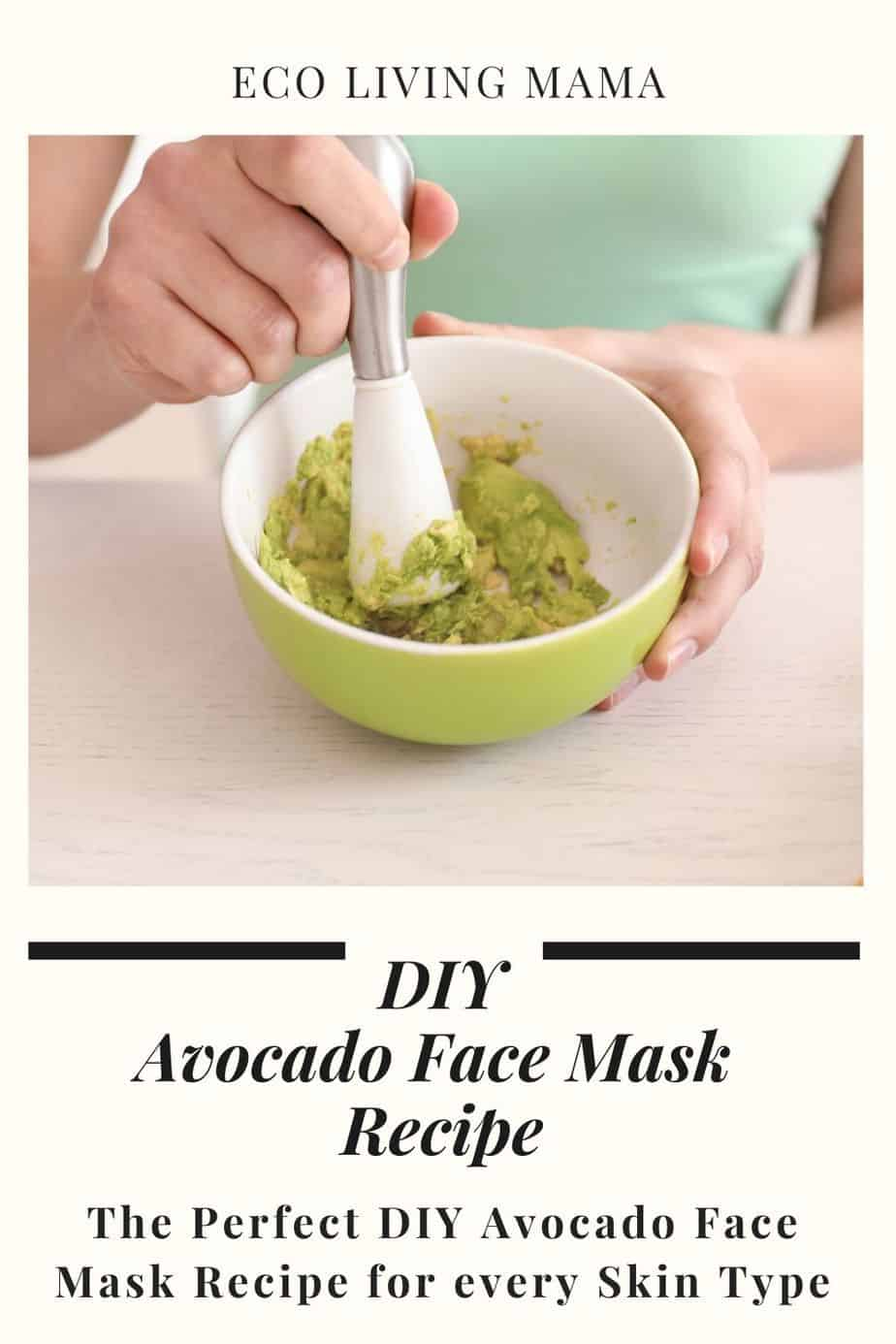 how to make avocado face mask for any skin type