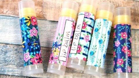 DIY Lip Balm without Beeswax - Easy Homemade Vegan Lip Balm
