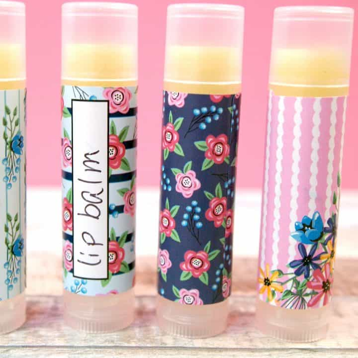 HOMEMADE LIP BALM RECIPE (by weight)